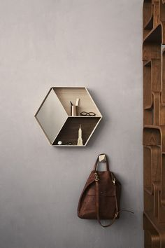 Ferm Living Hex Shelf, i like this idea!