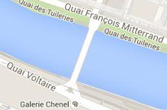 Pont du Carrousel: carte