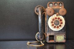 Antique Toy Pay Phone