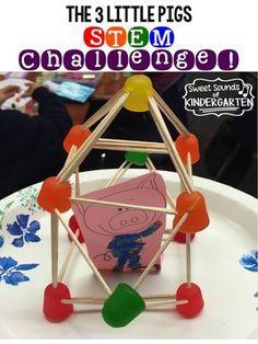 The 3 Little Pigs- STEM Challenge!!