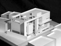 Richard Meier, Interior Architecture, Architecture Models, Cube, Illustration Art, Exterior, Remodeling, Templates, Arquitetura
