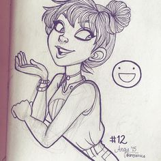 (Thanks for 35k!!) #angiensca #Inktober #day12 #girl
