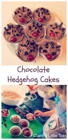 Fun baking idea for kids. Fun baking idea for kids. Hedgehog Cupcake, Sonic The Hedgehog Cake, Hedgehog Craft, Baking With Toddlers, Kids Baking, Baking With Children, Childrens Baking, Halloween Backen, Fun Cooking