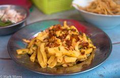 Myanmar Tofu thoke salad.