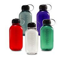 28 oz Tritan Canteen Bottle w/Black Cap-Add your company logo / slogan / contact info / event info on any of our water bottles and have them in your hands in as few as 7-10 business days from the date you approve the digital proof. Choose from 1 color imprint, 2 color or Full Color Decal on most options. Price on our website includes a 1 color imprint with either 1 sided imprint, 2 sided or Wrap. Canteen Bottle, Youth Day, Thing 1, Pretty Packaging, Water Bottles, Slogan, Decal, Company Logo, Hands