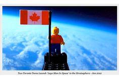 レゴ人形の宇宙への打ち上げが成功!実験をしたのはなんと高校生