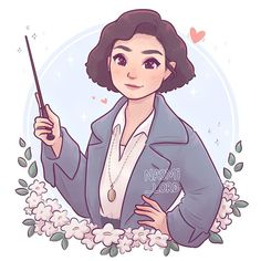 (As part of my HP ladies series!)🌸✨ She's definitely one of my favourite characters in fantastic beasts! Harry Potter Drawings, Harry Potter Anime, Harry Potter Art, Harry Potter Universal, Fantastic Beasts Movie, Fantastic Beasts And Where, Tina Goldstein, Animal Jam, Drawing People
