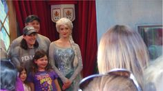 Visit Queen Elsa and her sister Anna at the new Frozen meet-and-greet inside Epcot's Norway Pavilion. The meet-and-greet is to last through the end of February and lines can become very long, so be sure to queue up early!