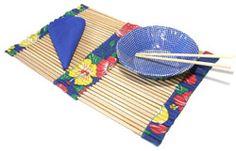 Jogo Americano com espetos de churrasco - Madeira - Arte Reciclada