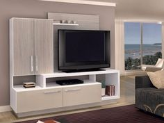 modular lcd rack mesa tv organizador vajillero ryo indonesia