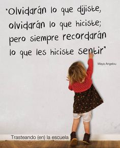 """Many small people, in small places, doing small things can change the world"""". Best Quotes, Love Quotes, Awesome Quotes, Albert Schweitzer, Positive Phrases, Inspirational Phrases, Teachers' Day, Teacher Quotes, Spanish Quotes"""