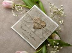 Znalezione obrazy dla zapytania zaproszenia ślubne rustykalne