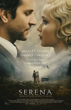 George and Serena Pemberton (Academy Award nominee Bradley Cooper and Academy Award winner Jennifer Lawrence), build a timber empire. Serena discovers George's past and their marriage begins to unravel. Bradley Cooper, Romance Movies, Drama Movies, Jennifer Lawrence, Film Movie, Cinema Movies, Movie Theater, Peliculas Audio Latino Online, Movie Posters
