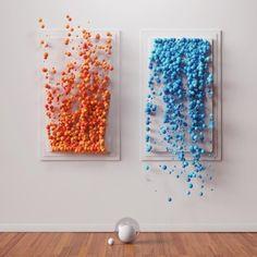 Artcube object design in 2019 art, art cube und palette art. 3d Wall Art, Glass Wall Art, Wooden Wall Art, Hanging Wall Art, Wood Art, Wall Art Designs, Wall Design, Wall Sculptures, Sculpture Art