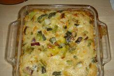 Recette de Clafoutis d'asperges au crabe : la recette facile