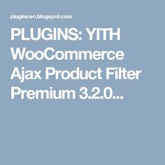 plugins yith woocommerce ajax product filter premium 320