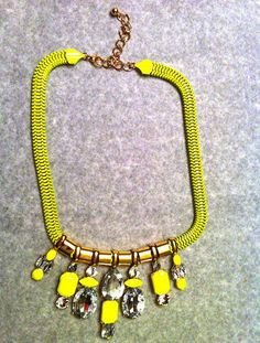 The Oxford Trunk Color Me Necklace