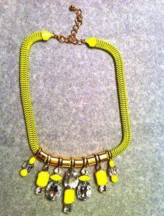 Neon colored accessories