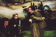 Harry Potter and the Prisoner of Azkaban behind the scenes.