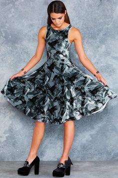 RAVENOUS VELVET PRINCESS MIDI DRESS - Dresses - Body - Shop