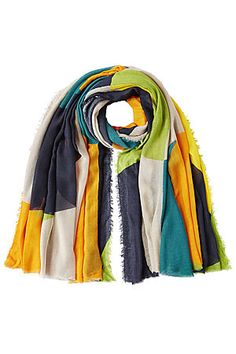 Das+I-Tüpfelchen+für+unsere+Stylings:+der+hauchzarte+Schal+aus+einem+feinen+Seiden-Gemisch+mit+Farbverlauf+–+von+Faliero+Sarti+#Stylebop