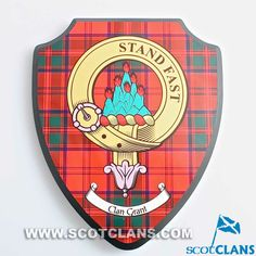 Grant Clan Crest Wal