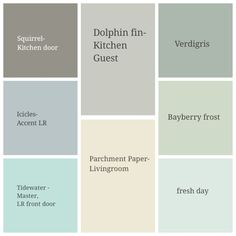 Valspar Kitchen Paint Color Options - gray/blue/light teal | DIYs ...