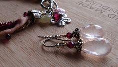 garnet & rose quartz