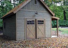 14 X 24 Montcrest Garage Garrison Ny Summerwood Garage Door Design Backyard Barn Building A Shed