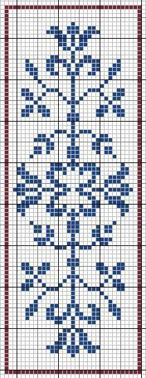 Arabesque cross-stitch - free