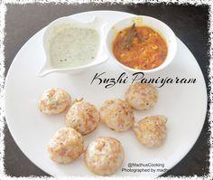 Madhu's Cooking And Craft: Kuzhi Paniyaram/ Kara Paniyaram and mint coconut c...