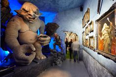 Tolkien fans can visit the world's first Middle-earth museum, about an hour from Zurich, as long as they can stoop.