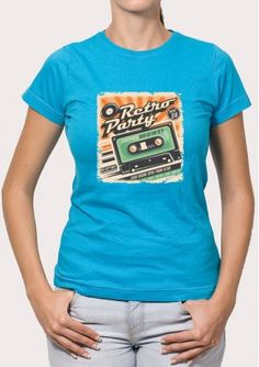 Camiseta Retro Party