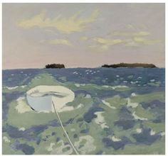Fairfield Porter had an eye for unusual color combinations and shape relationships as he explored the light and landscape of New England