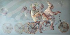 Immaculada Jordá i Frasquet (Macu Jordá) Magic Realism, Cycling Art, Creative Words, Surrealism, Mystic, Contemporary Art, Art Pieces, Scrap, Objects