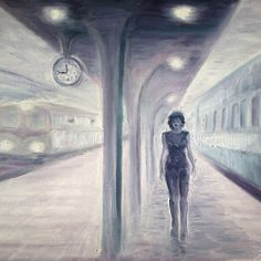 A recurring dream of a train and a misterious woman