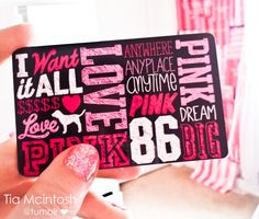 Victoria's secret gift card so I can pick the size and color of the top I want :)