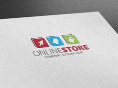 Online Store Logo by Creative Dezing on @creativemarket