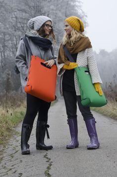 green and orange basic|one M yetibag.com #yetibag