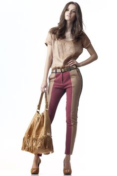 Bicolor Pants