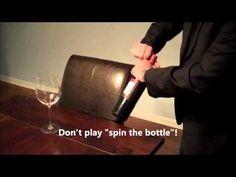 How to Open a Wine Bottle Like a Sommelier.