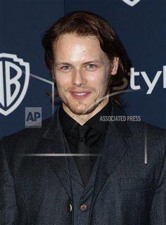 Sam Heughan - InStyle Warner Bros After Party Golden Globes 2014