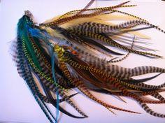 #iamzu #feathers #earrings