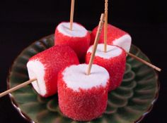 Jellomellows - I usually hate any pin that has to do with food, but this one is LEGAL for those of us on personal caloric restriction.  Marshmallows are very low in calories, and so is Jello!  Take the recipe one step further, and use PopRocks.  YUM!