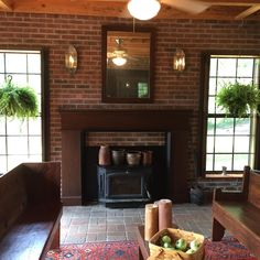 Beautiful great room and fireplace. Stained plantation shutters accent the stained fireplace mantel. Raised Panel Shutters, Interior Shutters, Shades Blinds, Fireplace Mantels, Great Rooms, Window Treatments, Windows, Beautiful, Home Decor