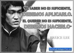 Frases de Bruce Lee, Frases Célebres de Bruce Lee