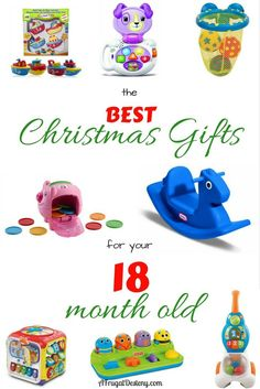It's time to buy Christmas gifts, but with so many toys how does a parent know what to buy? Here are over 40 gift ideas for your 18 month old! #toddler #kids #christmas #christmasgift #18months #giftideas #giftguide