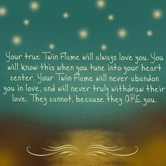 How will you know that you've found your twin flame? Twin Flames: