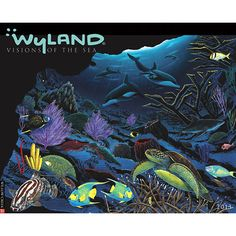 """Wyland Vision of the Sea Wall Calendar: USA Today calls Wyland the """"Marine Michelangelo"""". His unique marine life paintings have inspired a generation about the importance of conserving sea life and the world's oceans. These twelve magnificent images typify Wyland's artistic genius.  $13.99  http://calendars.com/Sea-Life/Wyland-Vision-of-the-Sea-2013-Wall-Calendar/prod201300004038/?categoryId=cat00345=cat00345#"""