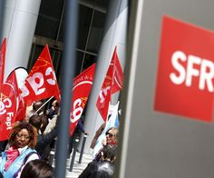 À l'appel de la CGT, de la CFE-CGC et de SUD, les 15 000salariés de SFR…
